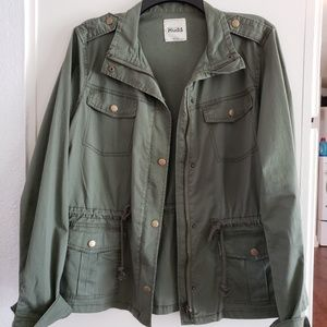 Greem Military style jacket